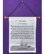 The Cutter {Coast Guard Poem} - Personalized Wall Hanging (529-1) - $18.99
