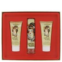 Love & Luck By Christian Audigier Gift Set 1.7 Oz Eau De Parfum Spray + ... - $106.85