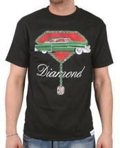 Diamond Supply Co Caddie Caddilac 50's Coupe Deville Camiseta Cuello en Pico Nwt