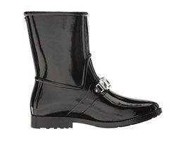 MICHAEL Michael Kors Womens Leslie Rainbootie Boots, Black, Size 6