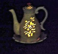 Elements Candle Holder3 Piece Pitcher Plate with LidVintageAA18-1221 image 9