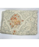 Pottery Barn Camilla Floral Linen Blend Full/Queen Duvet Cover - $96.00