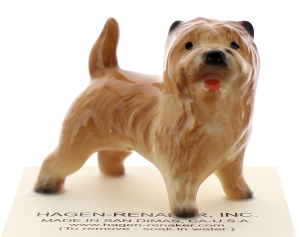 Hagen-Renaker Miniature Ceramic Dog Figurine Cairn Terrier