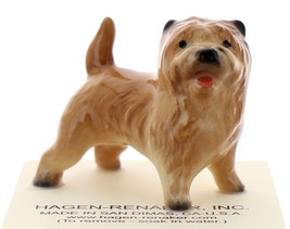 Hagen-Renaker Miniature Ceramic Dog Figurine Border Cairn Terrier