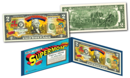 HAPPY MOTHER'S DAY - #1 MOM - SUPER MOM - Genuine Legal Tender U.S. $2 Bill - $13.81