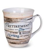 Ceramic Retirement Mug - $17.99