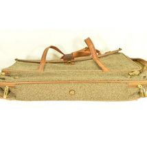"Hartmann Luggage 21"" Tweed & Leather Vintage Carry on image 8"
