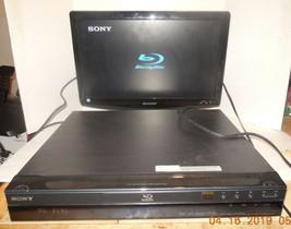 Sony BDP-S300 Blu Ray DVD Player HDMI Full HD 1080p NO REMOTE - $52.60