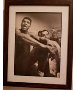 "Original vintage Framed 4"" x 6"" Portrait of ""The Greatest"" Muhammad Ali ... - $17.99"