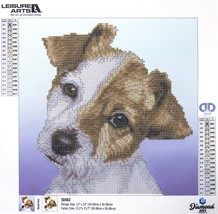 "Leisure Arts Diamond Art Intermediate Kit 12""X12""-Puppy - $20.18"