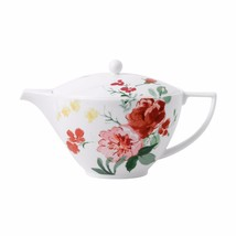 Wedgwood Jasper Conran Floral Tea Pot Covered Creamer and Sugar NEW IN T... - $233.74