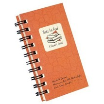 Books I've Read, A Reader's Journal - MINI Coral Hard Cover prompts on e... - $14.17