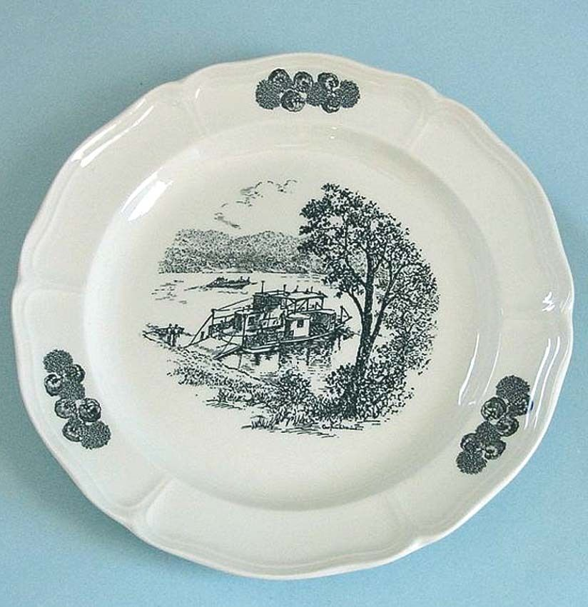 Wedgwood Anderson Ferry by Caroline Williams Plate Limit Edt Made in UK New