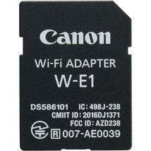 Canon W-E1 Wi-Fi Adapter For Eos 7D Mark Ii + 5DS + 5DS R - $23.21