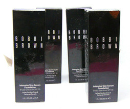 BOBBI BROWN INTENSIVE SKIN SERUM Foundation 1.0oz/30ml Choose Shade - $39.95