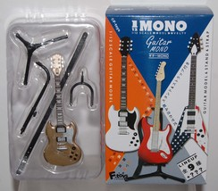 F Toys 1/12 Guitar Mono Stratype #2S GOLD SP Display Model w/ Stand Strap - $18.99