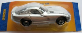 Dodge 1998 Viper GTS Silver Coupe Chrysler Maisto Die Cast Metal On Cut ... - $3.95