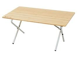 *Snow Peak (snow peak) one action low table bamboo LV100T - $409.48