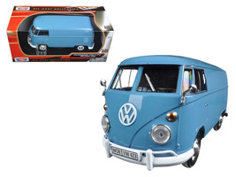 Volkswagen Type 2 (T1) Double Cab Pickup Truck White and Green 1/24 Diecast Mode - $33.36