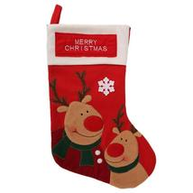 (as show)Christmas Stocking New Year Party Decorations Christmas Gift Candy Bag  - $20.00