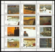 Canada Paintings, Canada Day mnh 1984 - $7.00