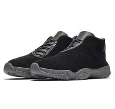 online store 5c103 b751f Nike Air Jordan Future Black University Red AT0056 003 Men  39 s Shoe