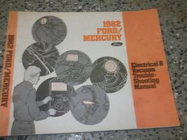 1982 MERCURY GRAND MARQUIS Wiring Electrical TROUBLESHOOTING Shop Repair... - $12.77