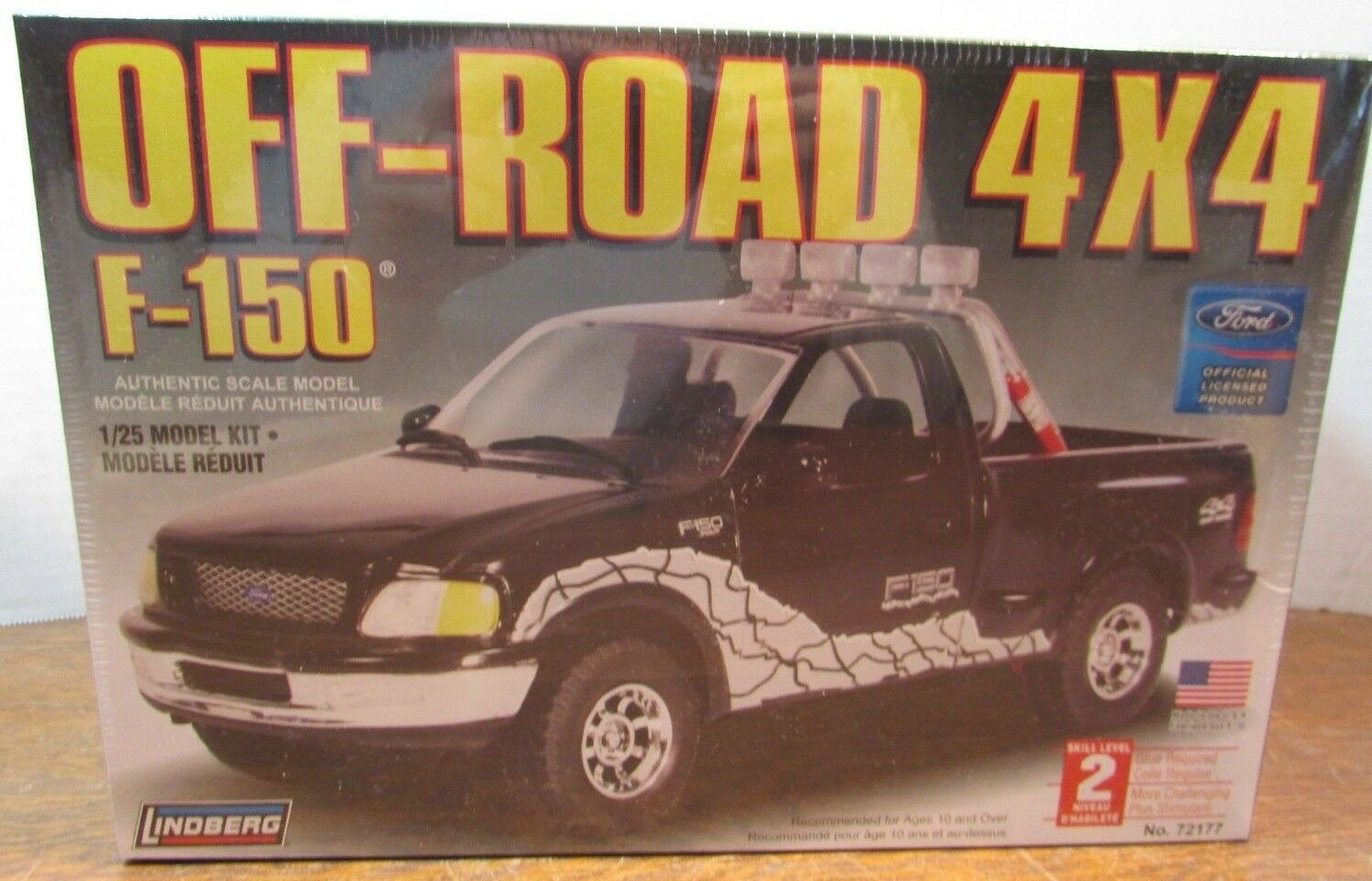 Lindberg 1:25 Scale Ford Off Road 4 X4 F-150 and 50 similar