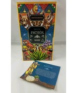 Silver Patron Tequila Limited Edition Empty Tin Box Wolves Animals Colorful - $8.86