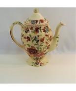 Mason's Regency Teapot Patent Ironstone China England RARE Pink Roses Or... - $38.52