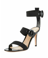 Gianvito Rossi Elastic Multi-Strap High Sandals  Size 37 MSRP: $895.00 - $519.75