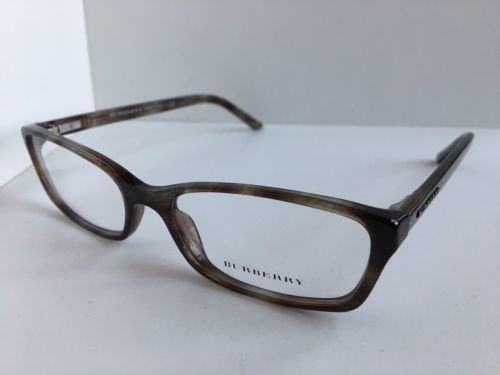 New BURBERRY B 7320 3470 Rx Havana 53mm Cats Eye Women's Eyeglasses Frame #2