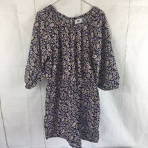 Girls Old Navy XL Romper 3/4 Sleeve Shorts Blue Paisley Fall 2017 One Pi... - $12.20