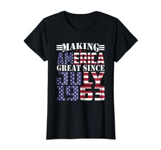 LoveShirt -  Make America Great Since July 1963 55th Birthday Shirt Gift... - $19.95+