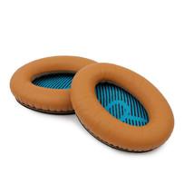 Brown Leather Ear Cushion Kit Bose SoundLink Around-Ear Headphones - Ear... - $18.11