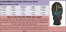 LONSUNEER Breathable Dog Boots with Nonslip Soles, Size XL image 4