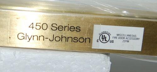 Glynn Johnson 454S Surface Overhead Door Stop Satin Brass Color
