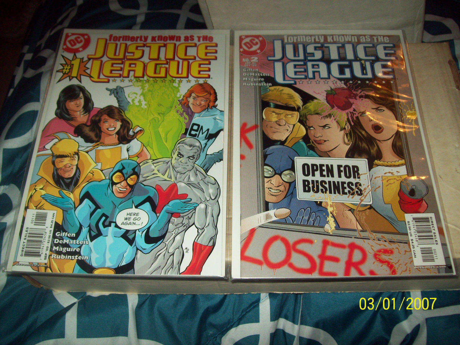 FORMERLY KNOWN AS THE JUSTICE LEAGUE #1-6 (COMPLETE MINI-SERIES)