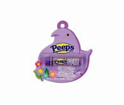 LOTTA LUV* Peeps Scented GRAPE MARSHMALLOW CREAM Lip Balm/Gloss PURPLE E... - $3.49
