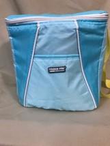 Fridge Pak Small Lightweight Square Cooler With Adjustable Strap Zipper ... - $18.69