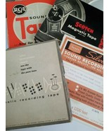 Vintage Magnetic Recording Tape Lot Of 4   - $22.18