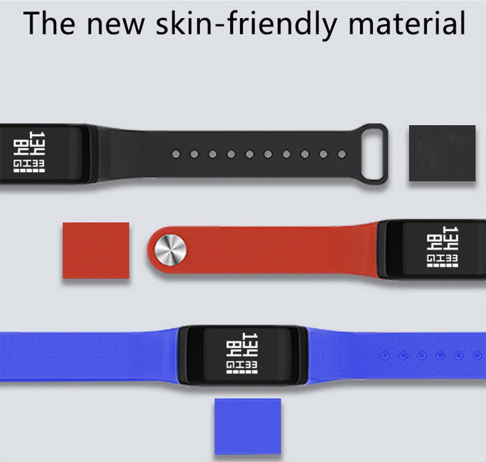 UK FitR Blood Pressure Heart Rate Monitor Smart Fitness Tracker Bracelet Watch