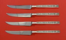 Spanish Tracery by Gorham Sterling Silver Steak Knife Set 4pc HHWS  Custom Made - $247.10