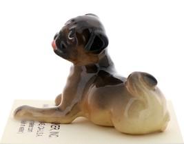 Hagen-Renaker Miniature Ceramic Dog Figurine Pug Fawn Baby Pup image 2