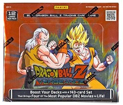 2016 DBZ Dragonball Z Vengeance Booster Box TCG English Card Game - 24 p... - $22.77