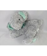 "Garanimals Gray Elephant Plush 8"" Green Ears Ribbon Stuffed Animal Toy - $12.95"