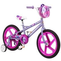 Girls Bike Learning Training Wheels Bicycle Steel Frame 5 Year Olds Purple Kids - $132.31