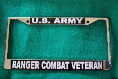 License Plate Frame-U.S.Army/RANGER Combat and 50 similar items