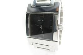Auth GUCCI 7700L Black Dial Stainless Steel Women's Quartz Watch GW4410L - $258.75 CAD