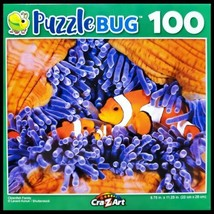 100 Piece Jigsaw Puzzle by Puzzlebug 9 in x 11 in, Clownfish Family - $4.99